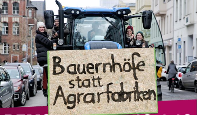 Wir haben es satt! Wege in eine zukunftsfähige Landwirtschaft