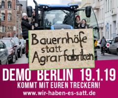 """Vortrag """"Wir haben es satt! Wege zu einer zukunftsfähigen Agrarpolitik"""""""