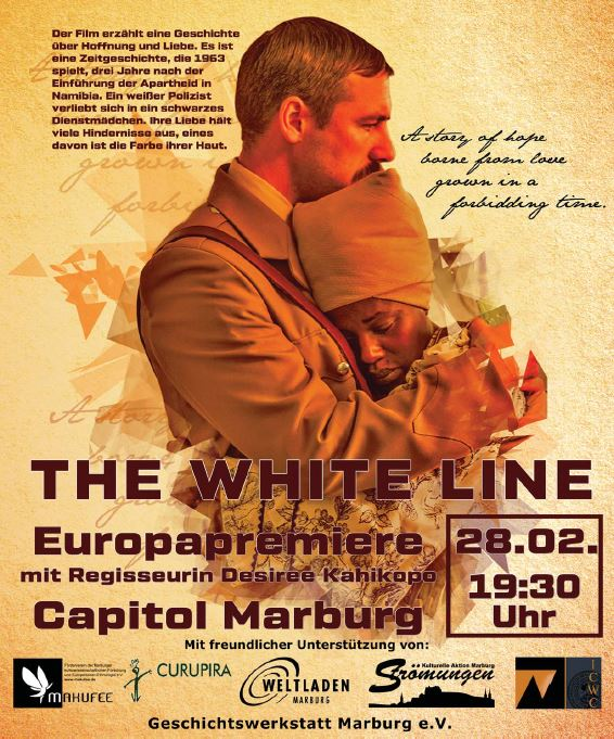 "Europapremiere: Namibischer Film ""The White Line"""